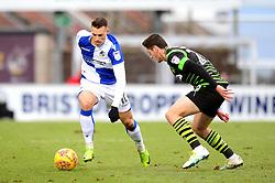 Billy Bodin of Bristol Rovers - Mandatory by-line: Dougie Allward/JMP - 23/12/2017 - FOOTBALL - Ashton Gate Stadium - Bristol, England - Bristol City v Manchester United - Carabao Cup Quarter Final