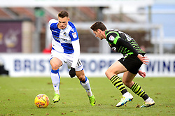 Billy Bodin of Bristol Rovers - Mandatory by-line: Dougie Allward/JMP - 23/12/2017 - FOOTBALL - Ashton Gate Stadium - Bristol, England - Bristol City v Manchester United - Carabao Cup Quarter Final