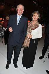 CHARLES & PATTI PALMER-TOMKINSON at a dinner hosted by Cartier following the following the opening of the Chelsea Flower Show 2012 held at Battersea Power Station, London on 21st May 2012.
