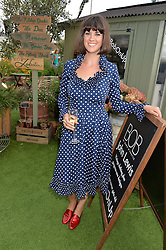 DAWN O'PORTER at a vintage fashion pop-up evening hosted by Dawn O'Porter at The Gardening Society, John Lewis, Oxford Street on 27th July 2016.