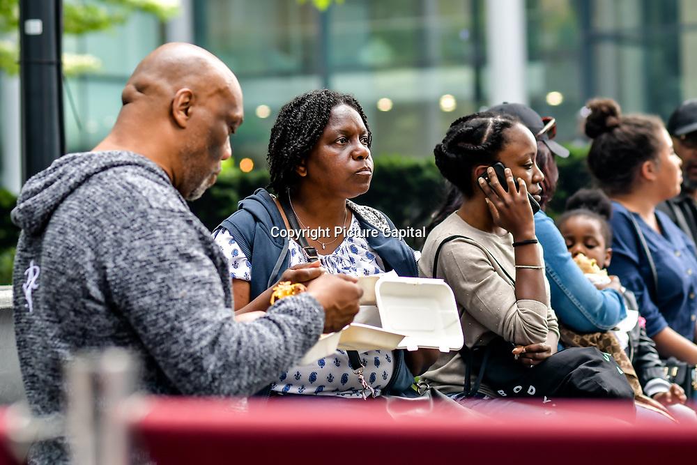 Kicking off Summer,  Pop Up Africa returns to Spitalfields E1 on Bank Holiday Monday 27th May 2019 to host Africa at Spitalfields with African fashion, jewellery, craft, live DJ, kids zone, food at Spitalfields Market, London, UK.