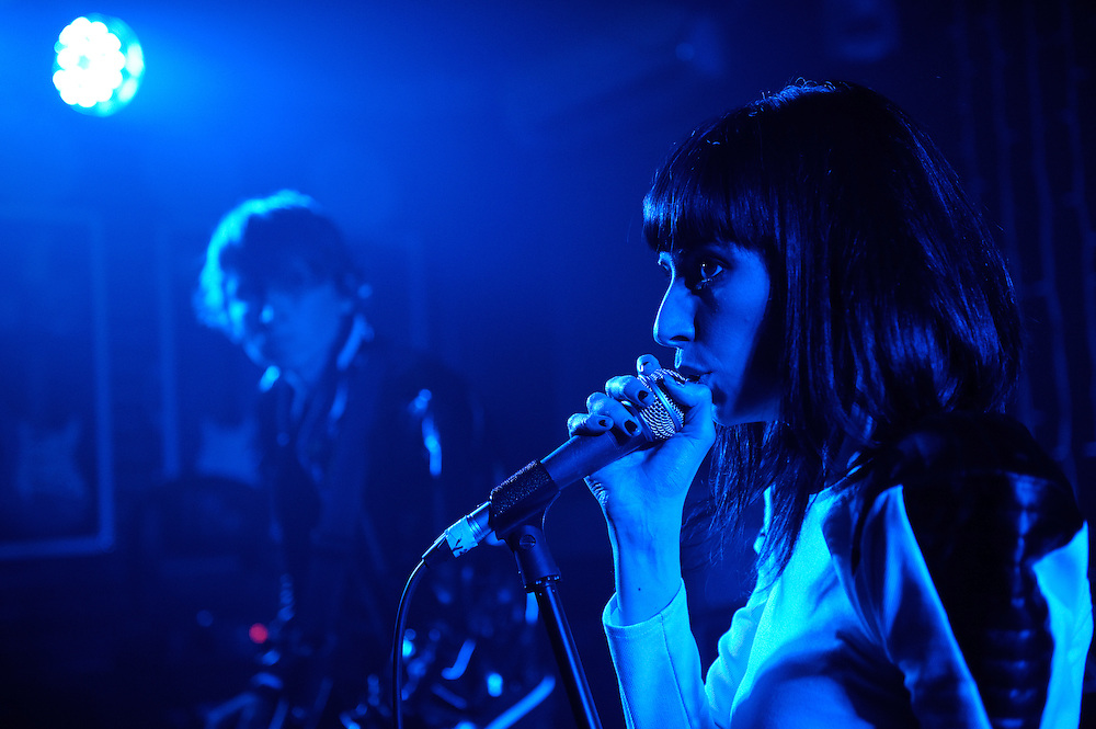 Zowie performs at New Zealand on Air Showcase concert. Backbeat Bar Auckland. 10 November 2012
