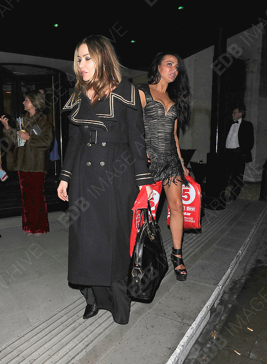 12.MARCH.2011. LONDON<br /> <br /> ELEN RIVES AND LIZZIE CUNDY LEAVING THE GROSVENOR HOTEL IN CENTRAL LONDON<br /> <br /> BYLINE: EDBIMAGEARCHIVE.COM<br /> <br /> *THIS IMAGE IS STRICTLY FOR UK NEWSPAPERS AND MAGAZINES ONLY*<br /> *FOR WORLD WIDE SALES AND WEB USE PLEASE CONTACT EDBIMAGEARCHIVE - 0208 954 5968*