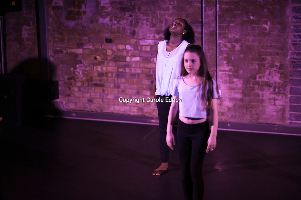 One Youth Dance rehearsals and production of Emerge, 2014