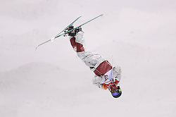 Canada's Marc-Antoine Gagnon in the Men's Moguls Final Qualification during day three of the PyeongChang 2018 Winter Olympic Games in South Korea. PRESS ASSOCIATION Photo. Picture date: Monday February 12, 2018. See PA story OLYMPICS Moguls. Photo credit should read: Mike Egerton/PA Wire. RESTRICTIONS: Editorial use only. No commercial use.