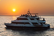 The Flamingo, operated by Ecoventura in the Galapagos Islands, Ecuador, is a superior first class motor yacht built in early 1990's.