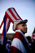 Oscar Sandoval, Salvadoran now living in Arlington, VA<br /> Immigration Rights March.Washington, DC ...