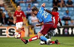 Tammy Abraham of Bristol City scores a goal against Scunthorpe United - Mandatory by-line: Robbie Stephenson/JMP - 23/08/2016 - FOOTBALL - Glanford Park - Scunthorpe, England - Scunthorpe United v Bristol City - EFL Cup second round