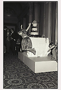 Elizabeth Westman, Wedding of Simon Lebus to Liddiake Gerraty. In and Out club, London, 1986.