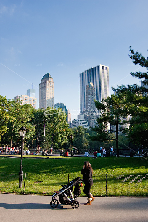 Central Park in New York City October 2008
