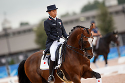 Hayashi Shingo, JPN, Exquis Clearwater<br /> World Equestrian Games - Tryon 2018<br /> © Hippo Foto - Sharon Vandeput<br /> 13/09/2018