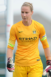 Manchester City Womens' Karen Bardsley - Photo mandatory by-line: Dougie Allward/JMP - Mobile: 07966 386802 - 28/09/2014 - SPORT - Women's Football - Bristol - SGS Wise Campus - Bristol Academy Women's v Manchester City Women's - Women's Super League