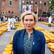 """NLD/Alkmaar/20180518 - Perspresentatie """"Nederland staat op tegen kanker"""" officiele start, Marlijn Weerdenburg"""