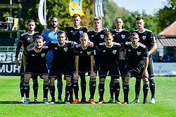 Team of NS Mura prior football match between NS Mura and NK Maribor in 10th Round of Prva liga Telekom Slovenije 2018/19, on September 30, 2018 in Mestni stadion Fazanerija, Murska Sobota, Slovenia. Photo by Mario Horvat / Sportida