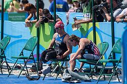 Elise MARC, FRA, Para-Triathlon - PT4 at Rio 2016 Paralympic Games, Brazil