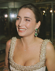 PRINCESS NAZAK KHATAMI, her husband was the brother of the late Shah of Iran, at a ball in London on 27th February 1999.MOU 13
