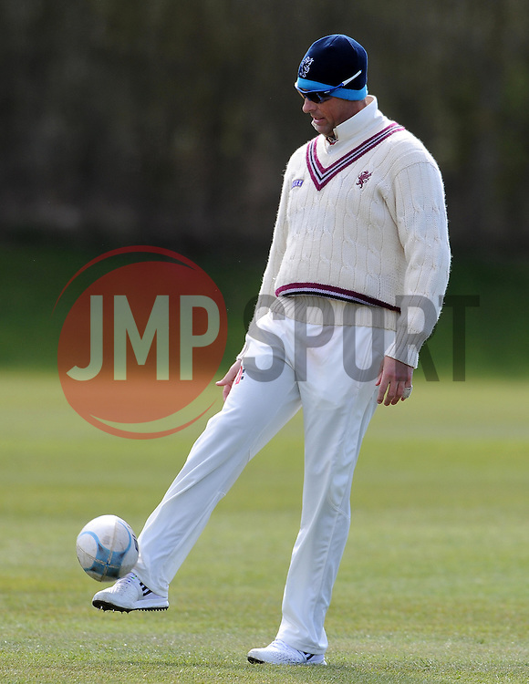 Somerset's Marcus Trescothick - Photo mandatory by-line: Harry Trump/JMP - Mobile: 07966 386802 - 24/03/15 - SPORT - CRICKET - Pre Season Fixture - Day 2 - Somerset v Glamorgan - Taunton Vale Cricket Club, Somerset, England.