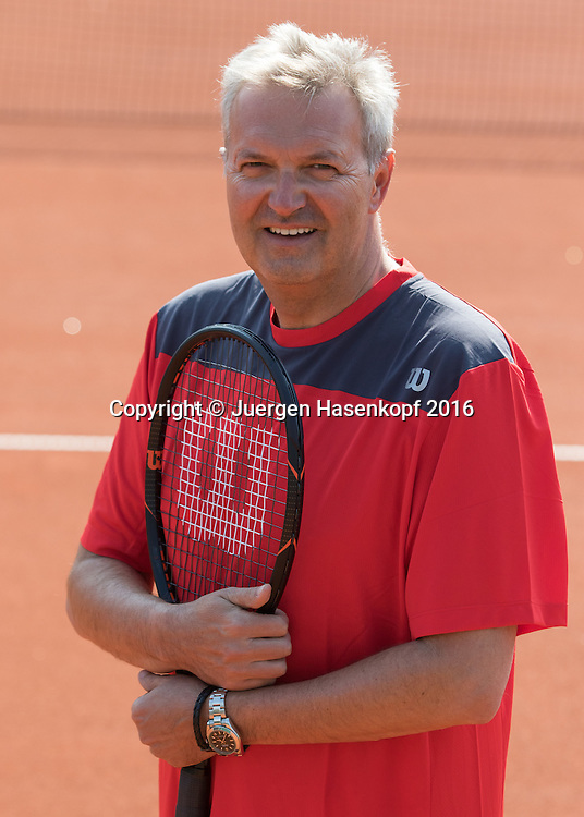Gerald Mild (AUT) Trainer,Coach, European Tennis Base (ETB) in Salzburg/AUT.<br /> <br />  - European Tennis Base (ETB) -  -  European Tennis Base (ETB)  - Salzburg -  - Oesterreich  - 12 April 2016. <br /> &copy; Juergen Hasenkopf