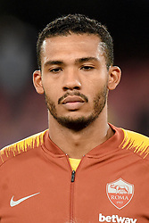 October 28, 2018 - Naples, Naples, Italy - Juan Jesus during the Serie A TIM match between SSC Napoli and AS Roma at Stadio San Paolo Naples Italy on 28 October 2018. (Credit Image: © Franco Romano/NurPhoto via ZUMA Press)