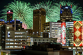 Detroit Fireworks for Hour Detroit Magazine