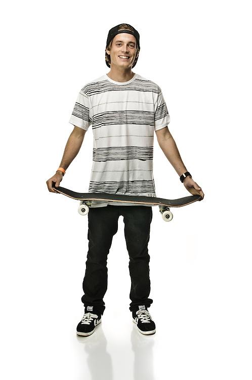 Zach Miller, pro skateboarder