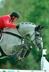 Philippaerts Ludo (BEL) - Parco<br /> CSIO Lummen 2001<br /> Photo © Dirk Caremans