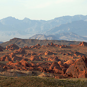 The Valley of Fire, near Las Vegas, Nevada, USA