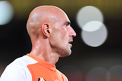 January 18, 2018 - Brisbane, QUEENSLAND, AUSTRALIA - Massimo Maccarone of the Roar (#9) looks on during the round seventeen Hyundai A-League match between the Brisbane Roar and the Perth Glory at Suncorp Stadium on January 18, 2018 in Brisbane, Australia. (Credit Image: © Albert Perez via ZUMA Wire)