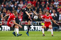 Birkir Bjarnason of Aston Villa controls the ball - Mandatory by-line: Robbie Stephenson/JMP - 12/05/2018 - FOOTBALL - Riverside Stadium - Middlesbrough, England - Middlesbrough v Aston Villa - Sky Bet Championship