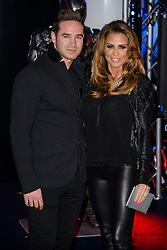 Katie Price attends The World Premiere of 'Robocop'. BFI IMAX, London, United Kingdom. Wednesday, 5th February 2014. Picture by Chris Joseph / i-Images<br /> File Photo - Katie Price is to divorce husband Kieran Hayler after claiming he has been having an affair with her best friend. Photo filed Wednesday 7th May 2014.