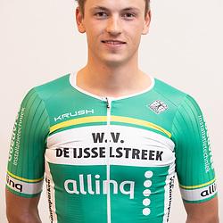25-02-2020: Wielrennen: Teampresentatie IJsselstreek; Harderwijk <br /> Arjan Arentsen