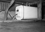26/05/1959<br /> 05/26/1959<br /> 26 May 1955<br /> Water heater behind the bar at Davy Moylan's Pub Dolphins Barn, Dublin.