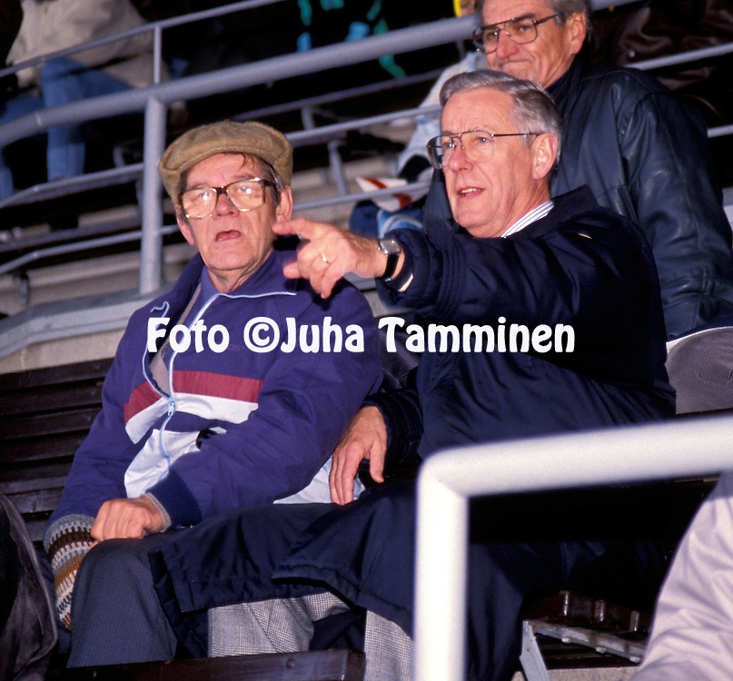 14.10.1989.Esko Piipponen & Erkki Poroila.©Juha Tamminen