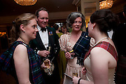 COL. ALASTAIR MATHEWSON; MRS. ALASTAIR MATHEWSON, 2009 Royal Caledonian Ball in aid of various Scottish charities , Great Room, Grosvenor House. London. 1 May 2009.