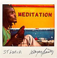 St. Lucia. Polaroid Spectra
