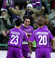 Firenze 20-11-2005<br /> Campionato  Serie A Tim 2005-2006<br /> Fiorentina Milan<br /> nella  foto Luca Toni<br /> Foto Snapshot / Graffiti