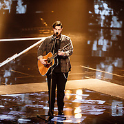 NLD/Hilversum/20160129 - Finale The Voice of Holland 2016, Dave Vermuelen