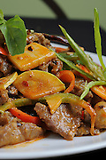 Chinese pan fried beef