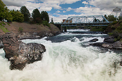 Spokane Falls, Spokane, Washington, US