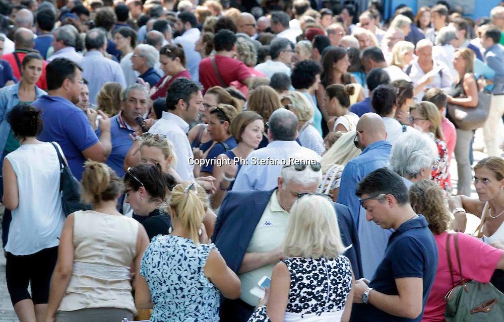Napoli 30 agosto 2016<br /> istituto Petriccione di Ponticelli  <br /> Ph: Stefano Renna