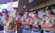 Right to Left: Ryne Stanek (Arkansas), Marco, Trevor Williams (ASU), Dan Child (Oregon State), Trea Turner (NC State)