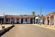 Square in Rodas, Cienfuegos Province, Cuba.