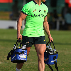 DURBAN, SOUTH AFRICA - AUGUST 25: Jesse Kriel during the South African national rugby team training session at Moses Mabhida Outer Fields on August 25, 2015 in Durban, South Africa. (Photo by Steve Haag/Gallo Images)