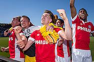 ZWOLLE, PEC Zwolle - PSV, voetbal, Eredivisie seizoen 2015-2016, 07-05-2016, IJsseldelta Stadion, PSV is kampioen, PSV speler Marco van Ginkel (M).