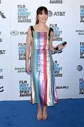 February 23, 2019 - Santa Monica, CA, USA - LOS ANGELES - FEB 23:  Katie Aselton at the 2019 Film Independent Spirit Awards on the Beach on February 23, 2019 in Santa Monica, CA (Credit Image: © Kay Blake/ZUMA Wire)