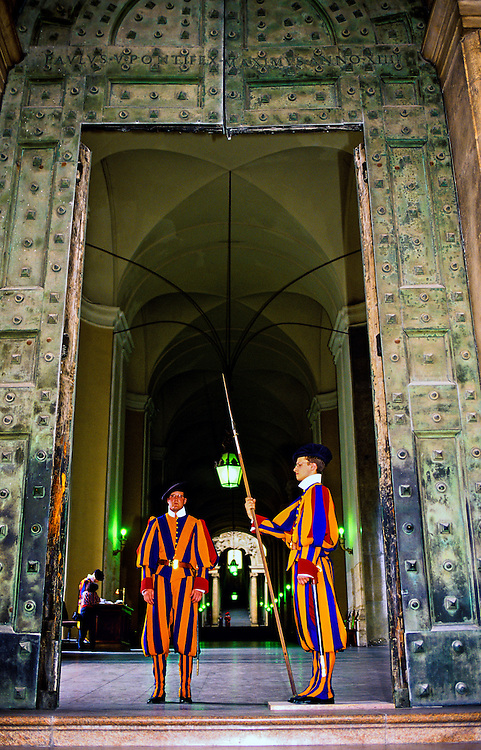 Swiss Guard, Vatican City, Rome, Italy