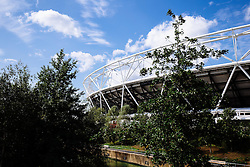 GV outside the Stadium - Mandatory byline: Rogan Thomson/JMP - 07966 386802 - 29/08/2015 - RUGBY UNION - The Stadium at Queen Elizabeth Olympic Park - London, England - Barbarians v Samoa - International Friendly.