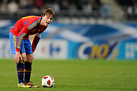 FOOTBALL - UNDER 21 - FRIENDLY GAME - FRANCE v SPAIN - 24/03/2011 - PHOTO GUILLAUME RAMON / DPPI - SERGIO CANALES (SPA)