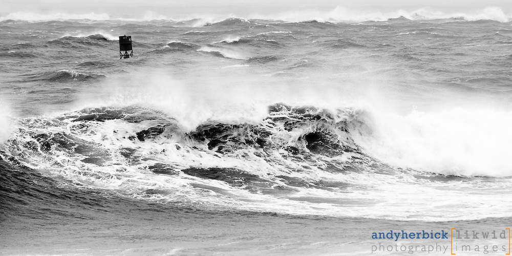 SEPTEMBER 3, 2010 - Ocean City, MD, USA - High surf and big waves at the Ocean City Inlet caused by Hurricane Earl. - IMAGE © Andy Herbick 2010 | www.andyherbickphotography.com - ALL RIGHTS RESERVED.