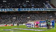 De to hold før kampen i UEFA Europa League mellem FC København og Dynamo Kiev den 7. november 2019 i Telia Parken (Foto: Claus Birch).